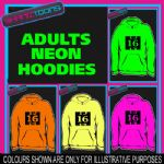 16th BIRTHDAY GIFT  ADULTS TEENAGER ELECTRIC HOODIE HOODY